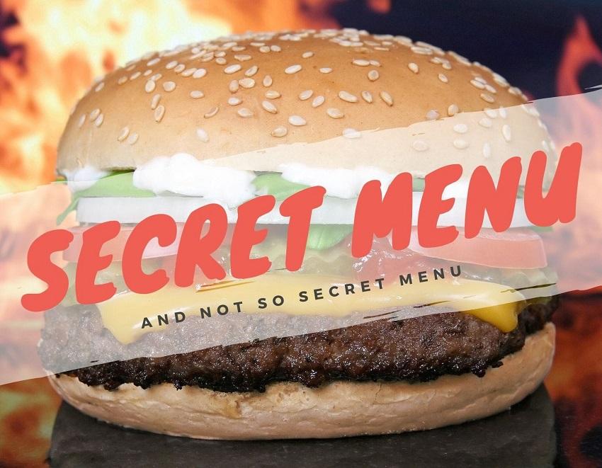 Secret menu