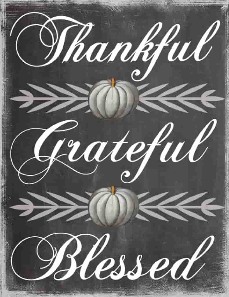 thanksgiving be thankful parole sparse