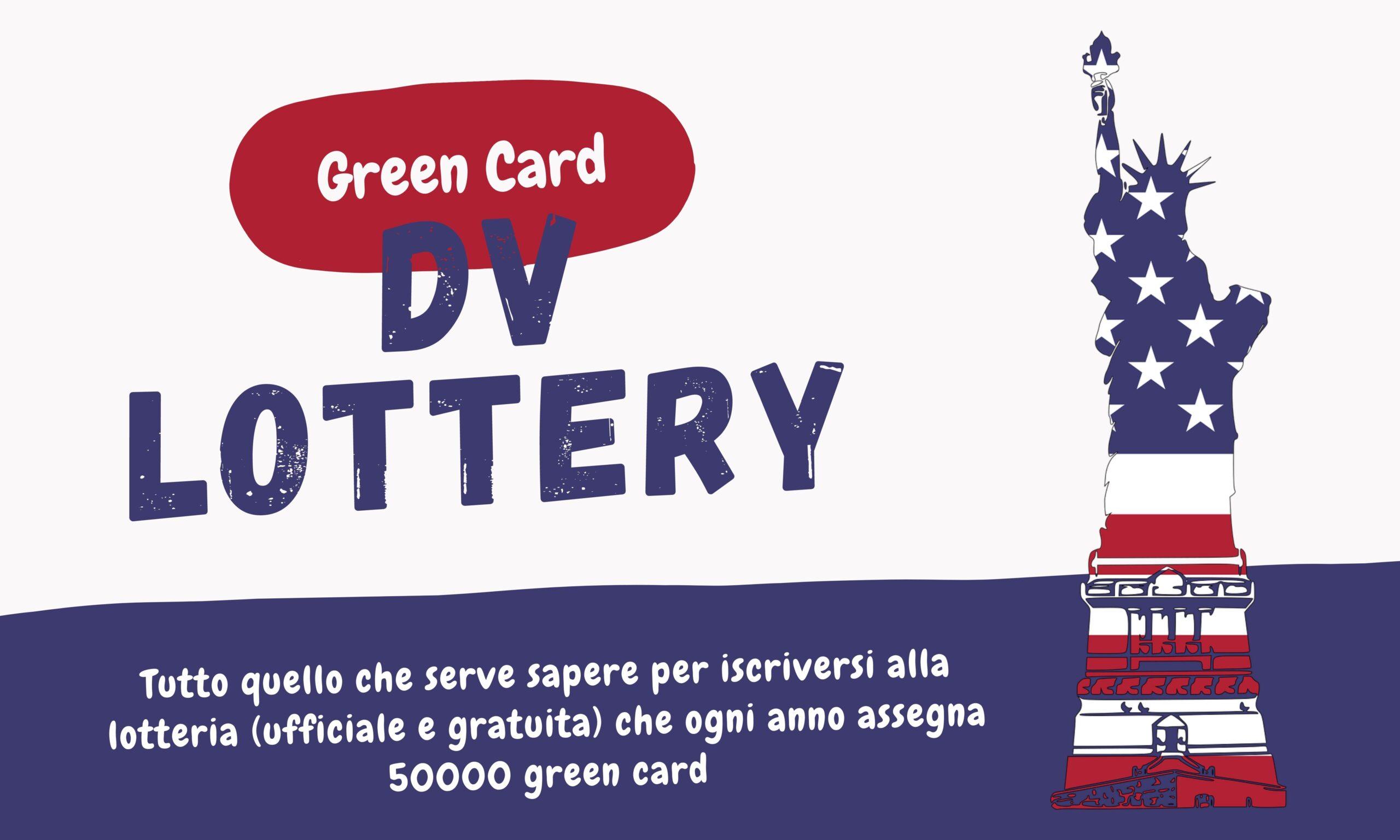 guida iscrizione DV lottery