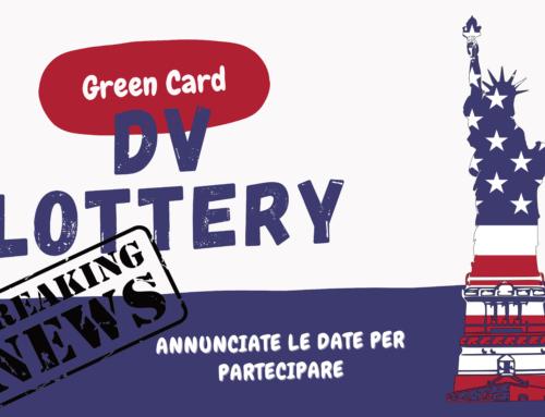 DV lottery 2023 date di iscrizione