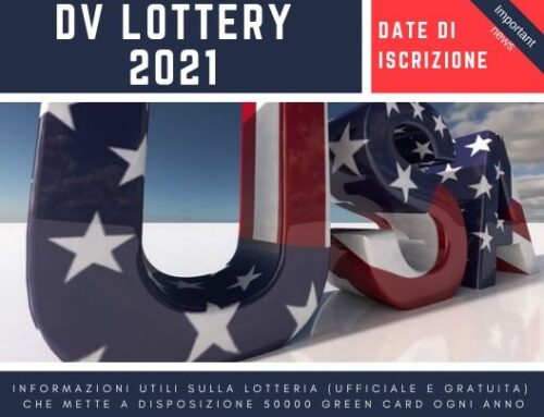 DV lottery 2021 date di iscrizione