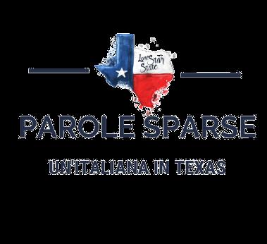 parole sparse un'italiana in texas logo
